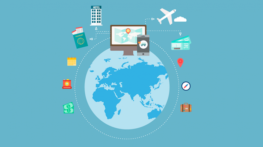 Estudo aponta alta de 73% no turismo online nos últimos 5 anos